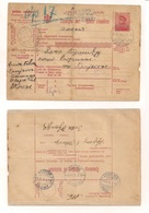 Bulletin D'expedition (Ganzsache) 22.7.1915 - Serbien