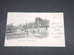 FRANCE - Carte Postale - Lyons La Forêt- Le Bout De Bas - Menu De L 'Hôtel De La Licorne - L 18441 - Lyons-la-Forêt