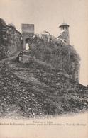 Cpa Du 38 - Crémieu - Rochers St-Hyppolyte, Ancienne Porte Des Bénédictins - Tour De L'Horloge - Vers 1900 - Crémieu