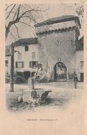 Carte Postale Ancienne De L'Isère - Crémieu - Porte François 1er - Vers 1900 - Crémieu