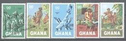 Ghana 1983 Yvert 801-805, Namibia Day, ONU - MNH - Ghana (1957-...)