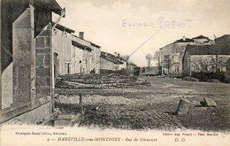 CPA - HAREVILLE-sous-MONTFORT (88) - Aspect De La Rue De Mirecourt Dans Les Années 20 - Francia