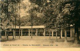 Cpa ROYAN 17 Domaine De Malakoff - L' Enfant Au Grand Air - Réfectoire D' Eté 1937 - Royan