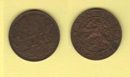 Curacao 2.5 Cent 1948 Wilhelmina Netherlands Antilles - Curacao