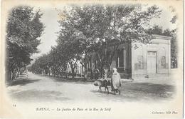 Batna - La Justice De Paix Et La Rue De Sétif - Batna