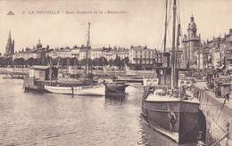 """17. LA ROCHELLE. CPA . QUAI DUPERRE ET LE """" BOYARVILLE """" - La Rochelle"""