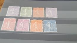 LOT 401046 TIMBRE DE FRANCE NEUF** N°197 A 205  SAUF 203 VALEUR 101 EUROS - France