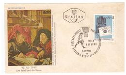 Facteur Poste PTT Messager Enveloppe 1er Jour First Day FDC Cachet 1965 - Post