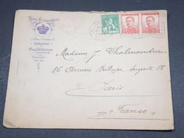 BELGIQUE - Enveloppe Commerciale (Royal Victoria Hôtel ) De Gent Pour Paris En 1913 - L 18455 - Sonstige