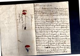 1664 Chanoine De La Cathédrale à St. Flour (EO7-175) - Poststempel (Briefe)