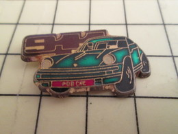 Pin911c Pin's Pins / Beau Et Rare : Thème AUTOMOBILE / PORSCHE 911 VERTE - Porsche