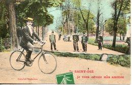 88. De Saint Dié, Je Vous Envoie Mes Amités - Saint Die