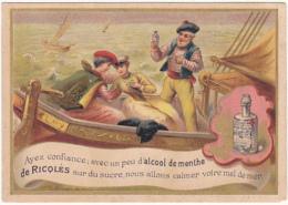 Chromo - Alcool De Menthe Ricqlès  Pour Le Mal De Mer - Cromo