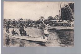 Iraq Fuel Market Basra Ca  1910 OLD POSTCARD 2 Scans - Iraq