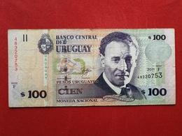 Uruguay - 100 Pesos Urugayos 2011 Pick 88 - Ttb / Vf ! (CLVO147) - Uruguay