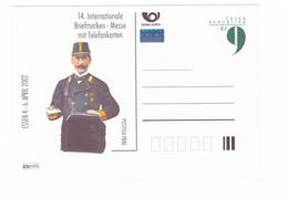 Facteur Poste PTT Entier Postal Tchecoslovaquie 2002 Internationale Briefmarken - Post
