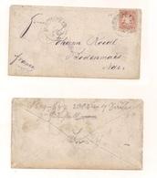 Brief Ohne Inhalt - Von Münchweiler Nach Bodenmais - Bavaria
