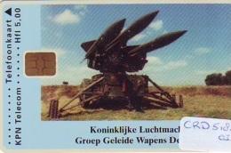 Nederland CHIP TELEFOONKAART * CRD-518.03 * AIRFORCE ARMEE * Telecarte A PUCE PAYS-BAS * Niederlande ONGEBRUIKT * MINT - Armée