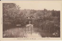 D72 - MARCON - LAITERIE COOPERATIVE DE MARCON - LE DEVERSOIR SUR LA DEME - (ENFANTS) - Autres Communes