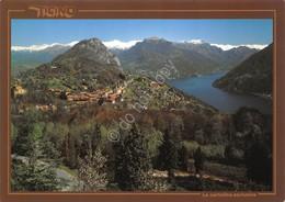 Cartolina Carona Monte San Salvatore Lago Di Lugano - Non Classificati