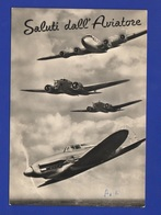 Aerei Aviazione Saluti Dall'Aviatore Cpa 1957 Avion Flight - 1946-....: Modern Era
