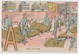 CPSM Humour - A Appel Du Soir - Illustrateur Gaillard - F.M - Humour