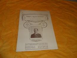 PARTITION MUSICALE ANCIENNE DE 1912. / SUPPLEMENT N°67. / VIENS !.. SOYONS HEUREUX ! VALSE PAR MARCEL CHAIGNEAU.. - Partitions Musicales Anciennes