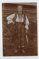 7986 Ukraine Romania Bukowina Romanian Types Original Photo Pc 1910s - Ucraina