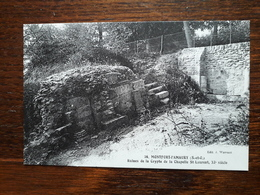 L3/83 Monfort L'Amaury . Ruines De La Crypte De La Chapelle St Laurent - Montfort L'Amaury