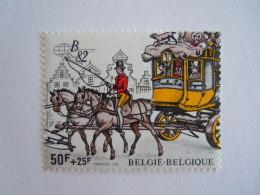 België Belgique 1982 Belgica 82 Postkoets Malle-poste Yv  COB 2077 MNH ** - Belgium