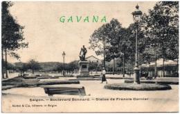 SAIGON - Boulevard Bonnard - Statue De Francis LGarnier - Vietnam