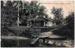 COCHINCHINE - Environs De SAIGON - Pagode - Vietnam