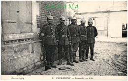 60 CLERMONT - Patrouille En Ville - Clermont