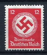 41413) DEUTSCHES REICH Dienst # 138 A Postfrisch GEPRÜFT Aus 1934, 15.- € - Dienstpost