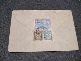 BEAUTIFUL PORTUGAL CIRCULATED COVER W/ PADROES DA GRANDEE GUERRA AÇORES STAMP UNKNOWN DATE - Cartas