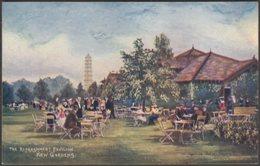 The Refreshment Pavilion, Kew Gardens, Surrey, C.1905-10 - Gale & Polden Postcard - Surrey