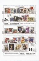 A 982 - 983 Czech Republic Centenary Of The Czech Stamp 2018 - Briefmarken Auf Briefmarken