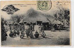 CPA Nouvelles Hébrides Circulé Type Voir Scan Du Dos Café - Vanuatu