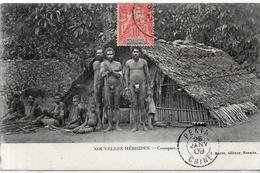 CPA Nouvelles Hébrides Circulé Type Voir Scan Du Dos - Vanuatu