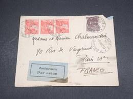 YOUGOSLAVIE - Enveloppe De Zagreb Pour La France En 1937 Par Avion - L 18473 - 1931-1941 Royaume De Yougoslavie