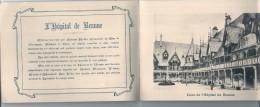 Carnet Publicitaire - Vins J CALVET Souvenir D'une Visite à Beaune Rare 18 Pages 16cmX11.5cm - Autres Collections