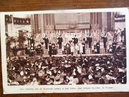 Oude Postkaart   Trekking  Koloniale  Loterij  Te Brussel - Belgium