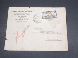 EGYPTE - Enveloppe Commerciale Du Caire Pour La France En 1938 , Affranchissement PA - L 18475 - Egypt