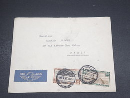 EGYPTE - Enveloppe Commerciale Du Caire Pour La France En 1938 , Affranchissement PA - L 18476 - Egypt