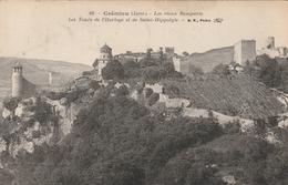 Carte Postale Ancienne De L'Isère - Crémieu - Les Vieux Remparts - Les Tours De L'Horloge Et Saint Hippolyte - Crémieu