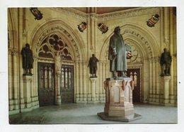 CHURCH / CHRISTIANITY - AK 325295 Speyer Am Rhein - Gedächtniskirche - Vorhalle Mit Statue Martin Luthers - Kirchen U. Kathedralen