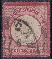 Deutsche Reich, 1872 - 1gr Rose  - Nr.17 Usato° - Allemagne
