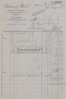 75 20 010 PARIS SEINE 1918 Sous Marins Jouets Scientifiques BERROB Jouet Bd Jules Ferry A GAREL - France