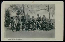 CUANGO-CUBANGO - MUCUSSO -COSTUMES - Mulheresde Mucusso ( Ed. Herculano Campos)  Carte Postale - Angola