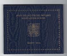 VATIKAAN EUROMUNTEN BU-set 2014 -  VOLLEDIGE REEKS - PAUS FRANCISCUS - Vatican
